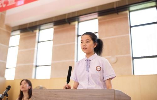 """以温暖·致未来——记新碶中学2021学年第一学期""""富美""""奖育奖学金颁奖典礼(图9)"""